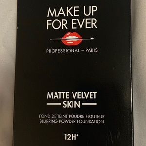 Makeup forever matte velvet skin. 12 h wear.